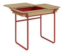 bureau enfant habitat pack combelle table et chaise d enfant bois laqué taupe chambre