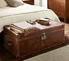coffre de chambre coffre banc de rangement de chambre en simili cuir ceria 7 coloris