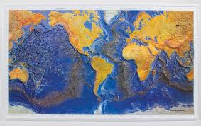 World Plate Boundaries Map by Investigating Plate Tectonics Chart