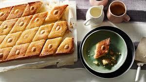 ingredient cuisine basbousa semolina cake recipes sbs food