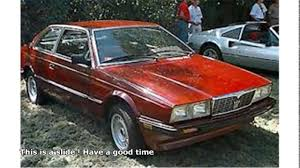 1985 maserati biturbo for sale maserati 85 youtube