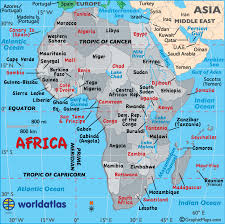 africa map africa map map of africa facts geography history of africa
