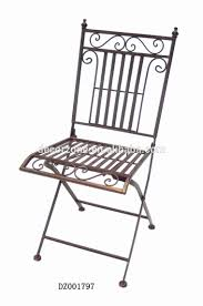 Metal Folding Bistro Chairs Cheap Metal Folding Bistro Chair With Modern Design Buy Iron
