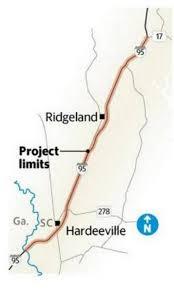 I 95 Map Will These Three Changes Make I 95 U0027s U0027coffin Corridor U0027 In Jasper