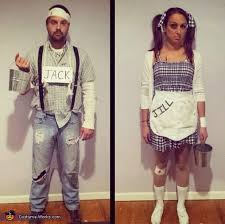 Unique Couple Halloween Costumes Jack Jill Costume Halloween Costumes Costumes Costume Works