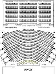 chicago theater floor plan seating charts north charleston coliseum u0026 performing arts center