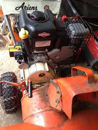 diy ariens snowblower repower with briggs and stratton model 15