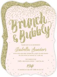 bridal brunch shower invitations bridal shower invitations beautiful custom wedding stationery