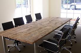Cool Meeting Table Cool Antique Conference Table Reclaimed Wood Tables Reclaimed Wood