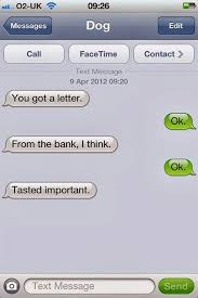 35 Hilarious Funny Texts Messages - the 35 funniest text messages dogs would send if they could text