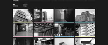 architect website design 50 inspiring exles of using black in web design