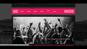 download theme wordpress music k boom u2013 events u0026 music responsive