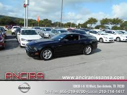 Used Black Mustang Px4030 2014 Ford Mustang V6 Black For Sale San Antonio Tx