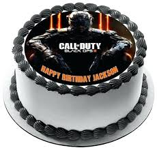 call of duty cake topper call of duty cake designs ideas birthday and modern ops 3