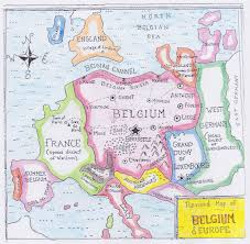 map of begium how belgium plans to take europe big think