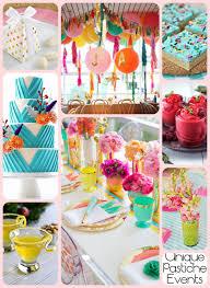 vibrant summer birthday party idea for her unique pastiche events