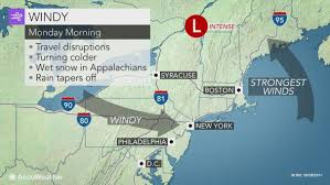 northeastern cus map flooding damaging winds to wallop northeastern us into monday