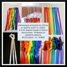 ribbon streamers creative movement streamer props paw creek