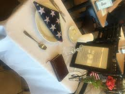 Fallen Comrade Table by A Seat At The Table Honoring Those Who Made The Ultimate Sacrifice
