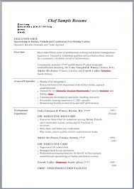 Culinary Resume Skills Examples Sample by Survey Of Accounting Homework Dr Terry Cutler And Resume Research