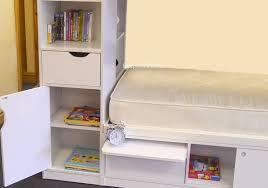 White Wooden Bunk Bed White Wooden Storage Bunk Beds Platinum By Sleepland Beds