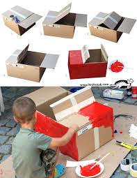 Blueprints To Build A Toy Box by Diy Cardboard Box Car Kevin Pinterest Diy Cardboard