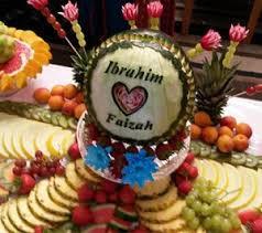 fruit displays big events fruit displays