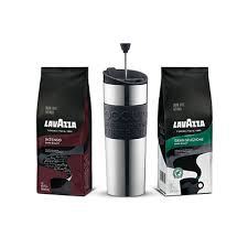 coffee gift sets coffee gift pack lavazza bundles of coffee and accessories to