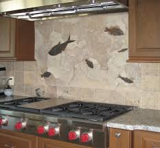 Limestone Backsplash Kitchen Surprising Limestone Kitchen Backsplashes With Square Shape