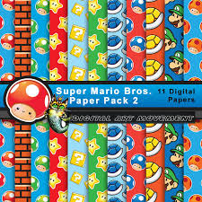 mario wrapping paper mario seamless patternssuper mario digital gamingsuper