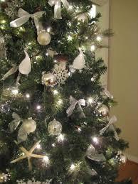 silver christmas tree garlands u2013 happy holidays