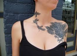 chest tattoos for women ideas tattoo designs
