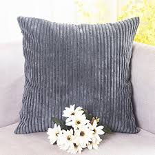 soft throw pillows for couch amazon com