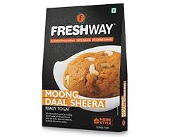 sermes cuisine freshway ready to eat moong daal sheera with no added preservatives