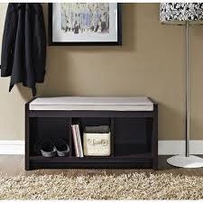 zipcode design claudia storage bench with cushion u0026 reviews wayfair