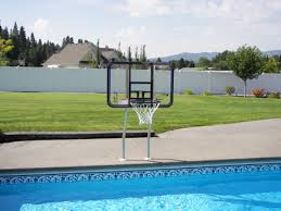 Backyard Pool And Basketball Court Swimming Pool Features Available For Both Gunite U0026 Vinyl Lined