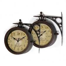 Outdoor Pedestal Clock Thermometer Rustic Outdoor Thermometer Foter