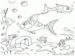 sea fish coloring pages coloring home