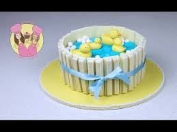 duck cake make a ducks in pond kit cake baby shower part 1 with