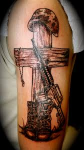 100 cross tattoos with dog tags tattoo ideas children kids