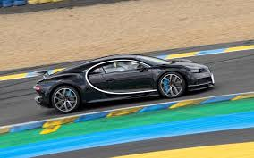 car bugatti chiron bugatti ceo drives new chiron faster than a race car at le mans