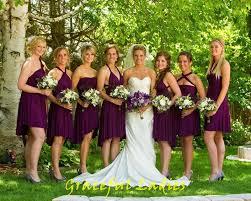 sangria bridesmaid dresses sangria bridesmaid dresses purple real picture convertible