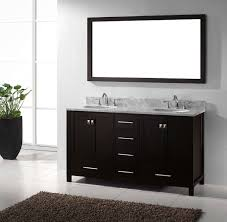 56 Bathroom Vanity Double Sink by 60 Cleveland Country