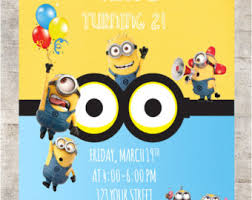minion birthday invitation minion birthday invitation to make