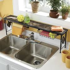 Kitchen Sink Shelf Organizer by Black Over The Kitchen Sink Shelf Http Www Ebay Com Itm Lipper