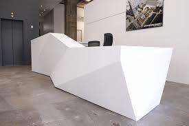 Retro Modern Desk Reception Desks Contemporary And Modern Office Furniture