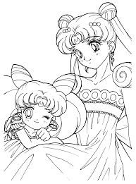 sailor moon coloring pages glum