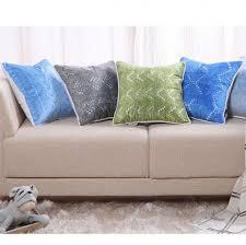 ou jeter un canapé bleu oreillers 3d jeter tricotés pour canapé impression numérique