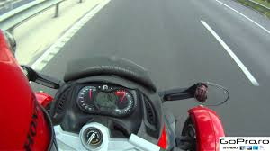 top speed on can am spyder 2 onboard mp4 youtube
