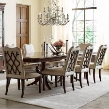 kincaid furniture hadleigh nine piece formal dining set with